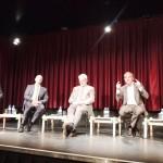 (Deutsch) vlnr: Dr. Gerhard Pramhas, Dr. Franz Kerschbaum, Dr.Erhard Busek, Michael Scherff, Erwin Redl