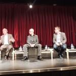 (Deutsch) vlnr: Dr.Erhard Busek, Michael Scherff, Erwin Redl, Mark Perry, DI Franz Seywerth